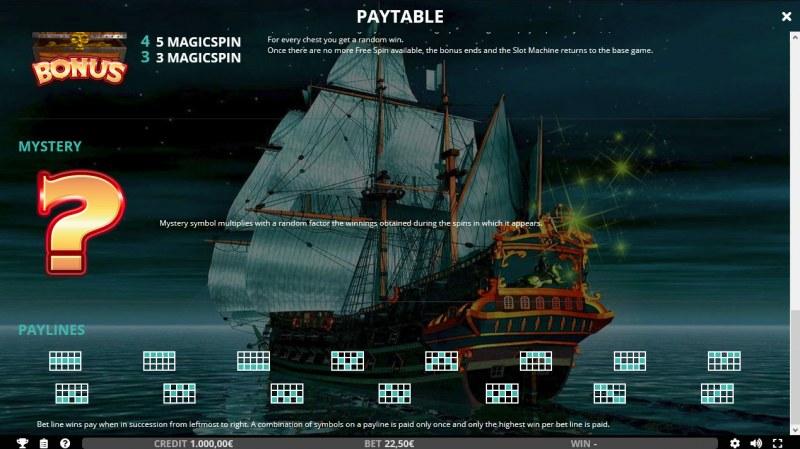 Wild Galleon :: Paylines 1-15