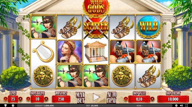 Wild Gods :: Base Game Screen