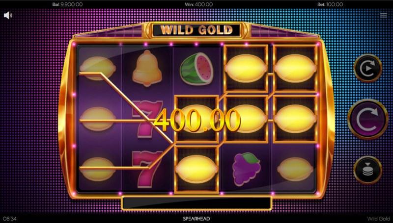 Wild Gold :: Multiple winning paylines
