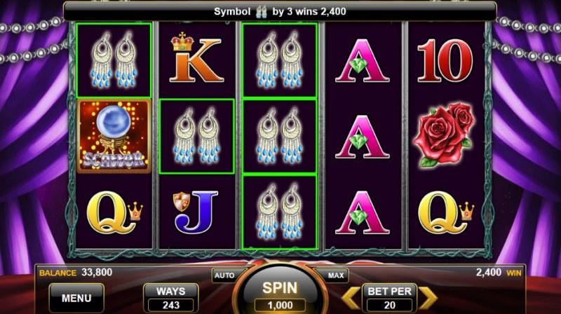Wild Gypsy :: Three of a kind win