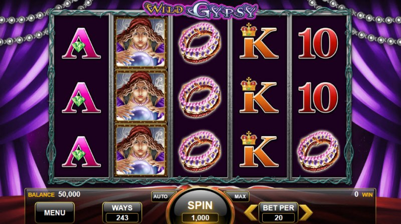 Wild Gypsy :: Main Game Board
