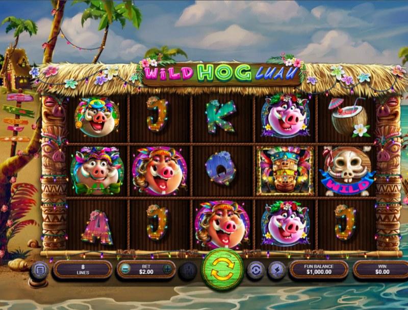 Wild Hog Luau :: Main Game Board