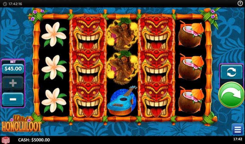 Wild Honoluloot :: Main Game Board