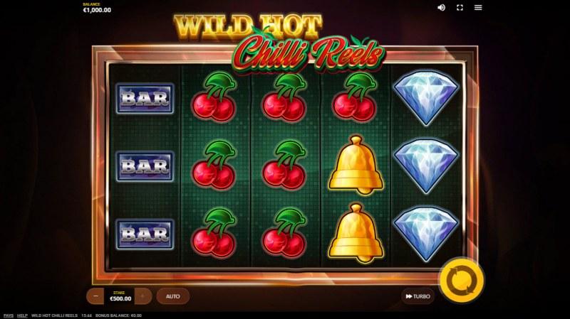 Wild Hot Chilli Reels :: Base Game Screen