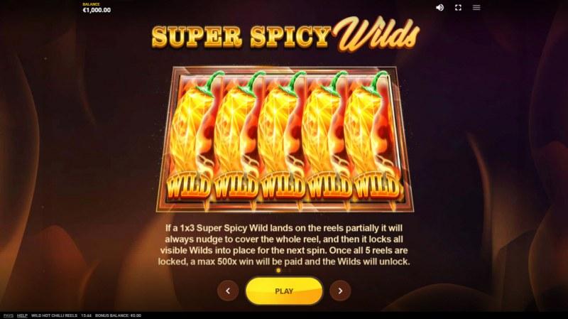 Wild Hot Chilli Reels :: Super Spicy Wilds