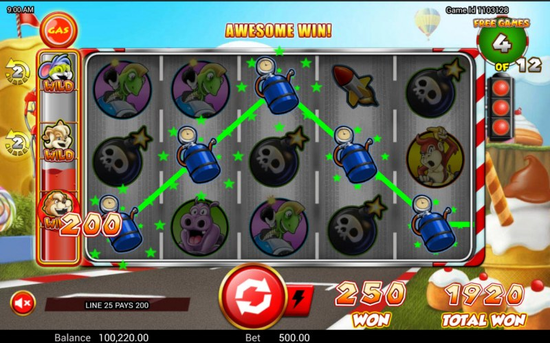 Wild Kart Racers :: A five of a kind win