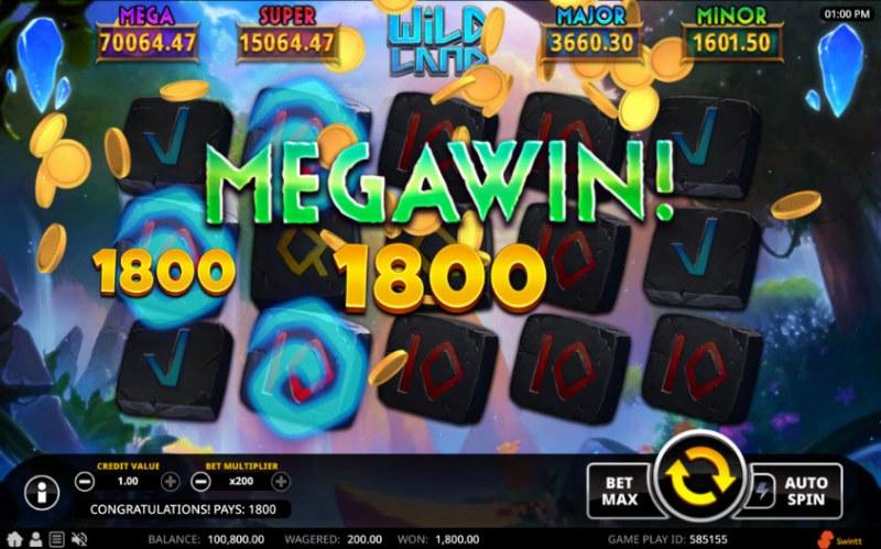 Wild Land :: Mega Win