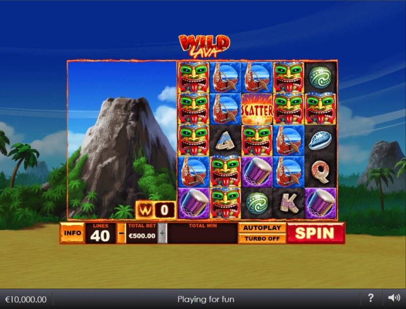 Wild Lava :: Main Game Board