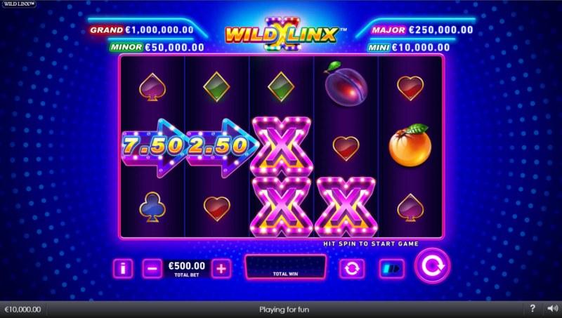Wild Linx :: Base Game Screen