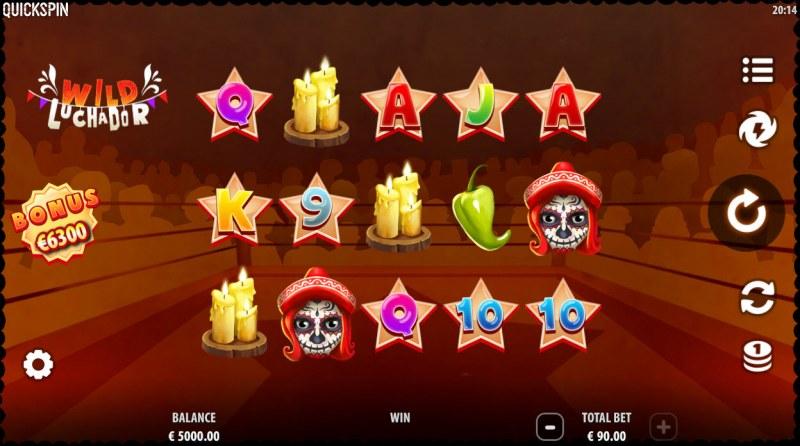 Wild Luchador :: Main Game Board