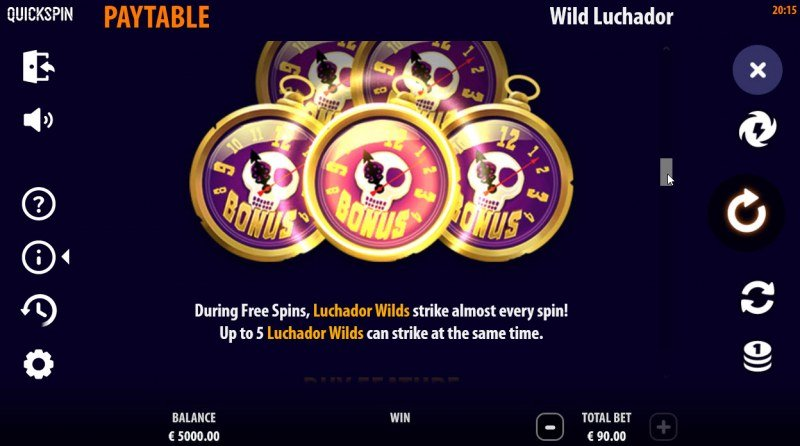 Wild Luchador :: Feature Rules