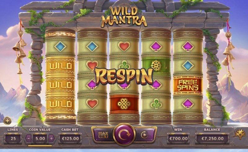 Wild Mantra :: Respin triggered