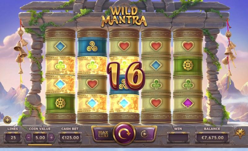 Wild Mantra :: A pair of winning paylines