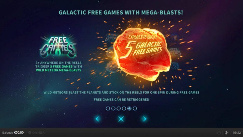 Wild Meteors :: Free Spins Rules