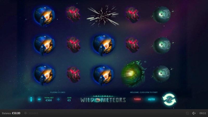 Wild Meteors :: Main Game Board