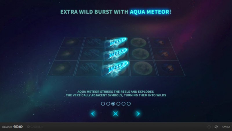Wild Meteors :: Aqua Meteor