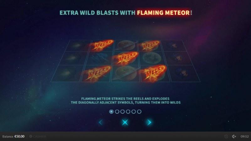 Wild Meteors :: Flaming Meteors