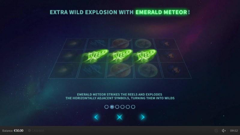 Wild Meteors :: Emerald Meteor