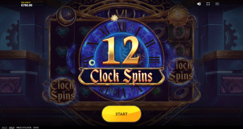 Wild O'Clock :: 12 Free Spins Awarded