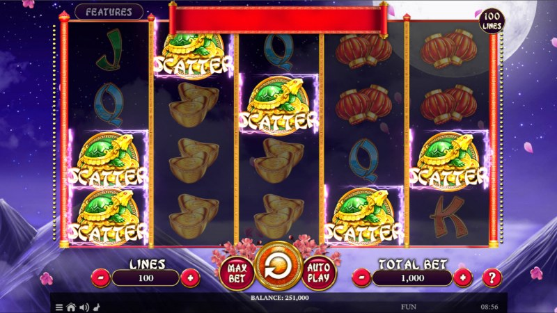 Wild Ox :: Scatter Win