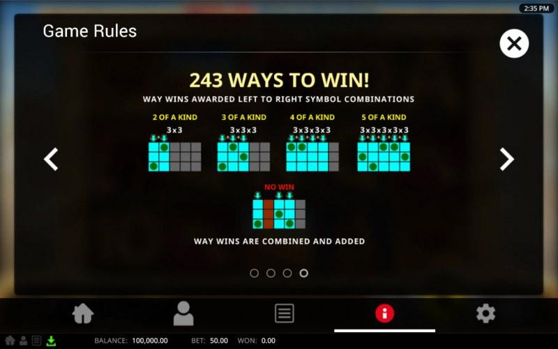 Wild Pharaoh :: 243 Ways to Win