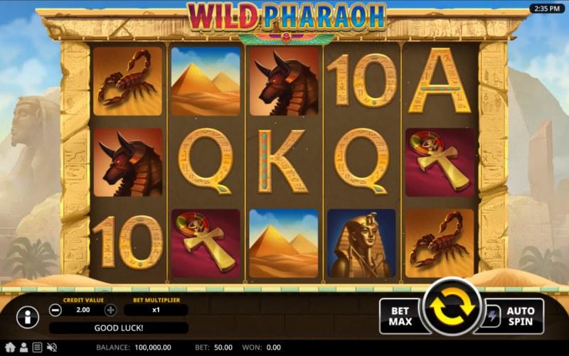 Wild Pharaoh :: Main Game Board