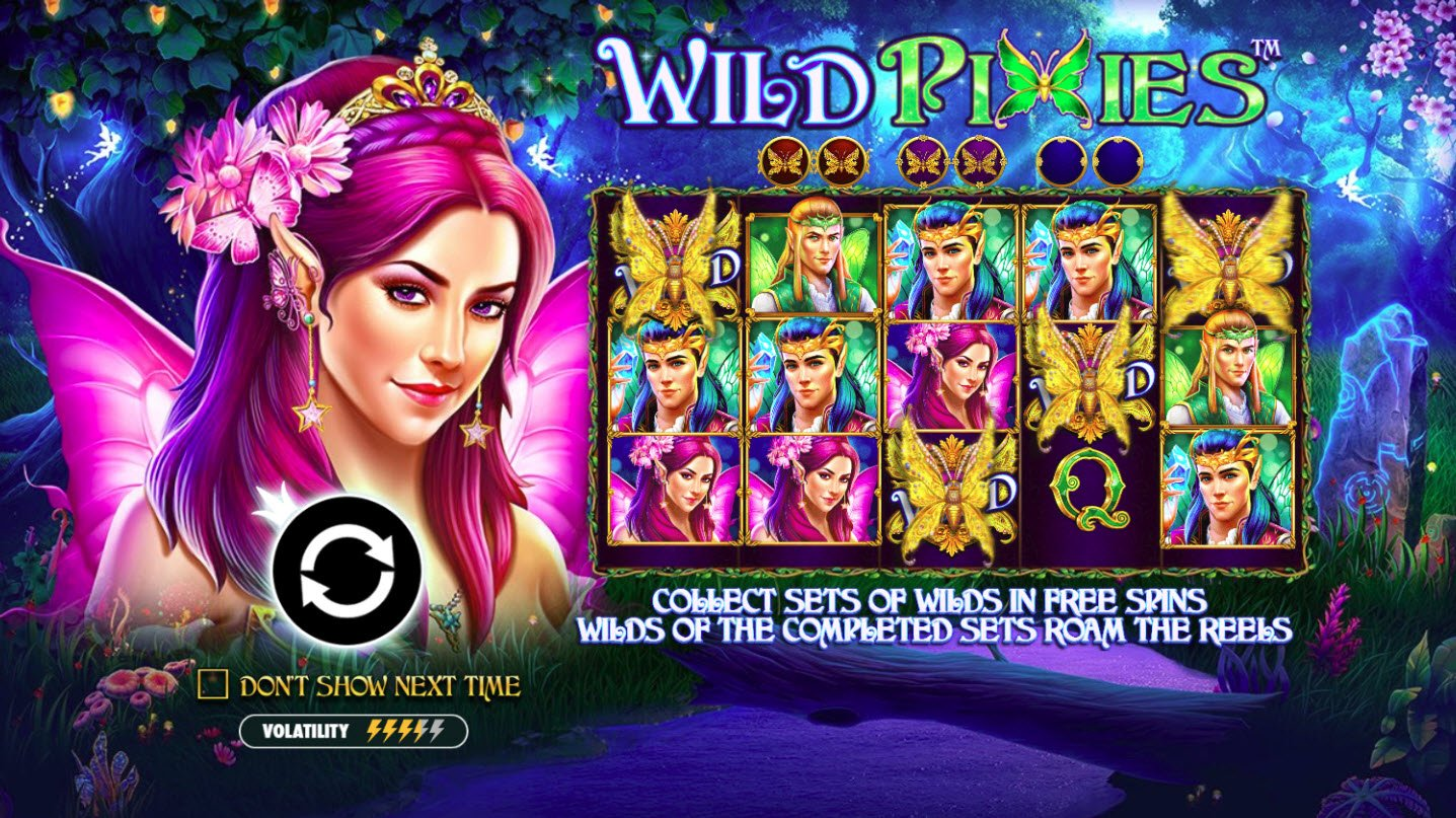 Play slots at Winward: Winward featuring the Video Slots Wild Pixies with a maximum payout of $50,000