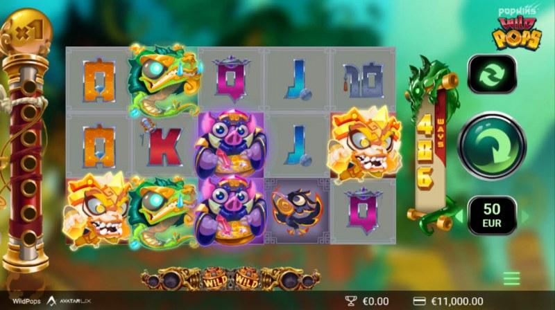 Wild Pops :: Main Game Board
