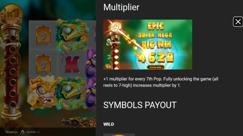 Wild Pops :: Multiplier