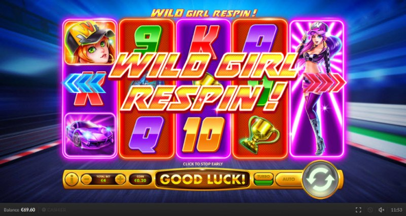 Wild Racers :: Respin triggered