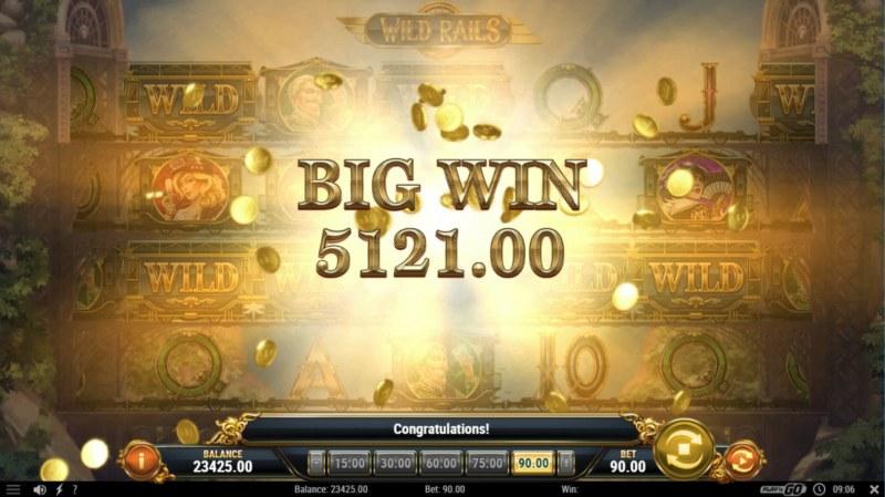 Wild Rails :: Big Win