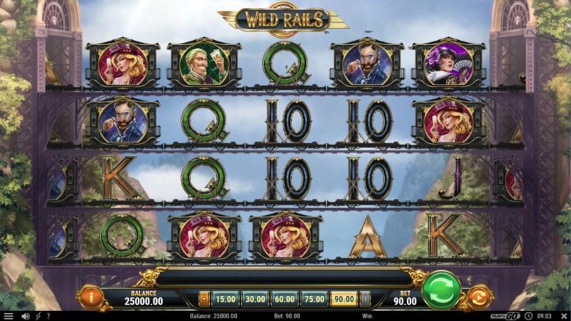 Wild Rails :: Main Game Board