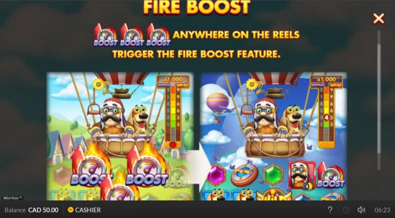 Wild Ride :: Fire Boost