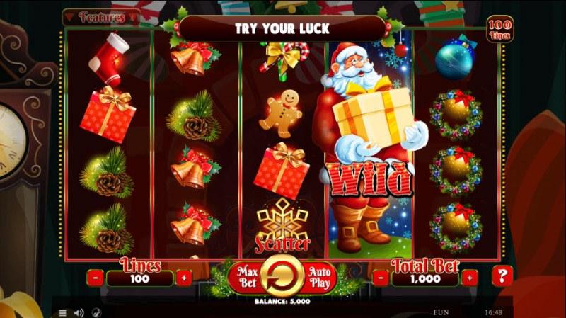 Wild Santa :: Main Game Board