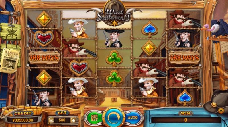 Wild Settlement :: Main Game Board