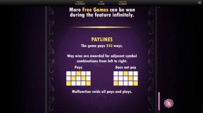 Wild Sorcery :: 243 Ways to Win
