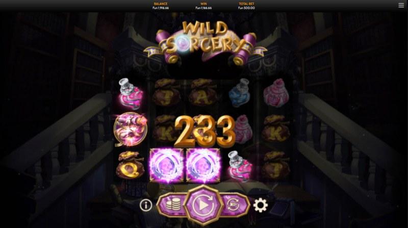 Wild Sorcery :: Multiple winning combinations