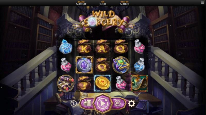Wild Sorcery :: Main Game Board