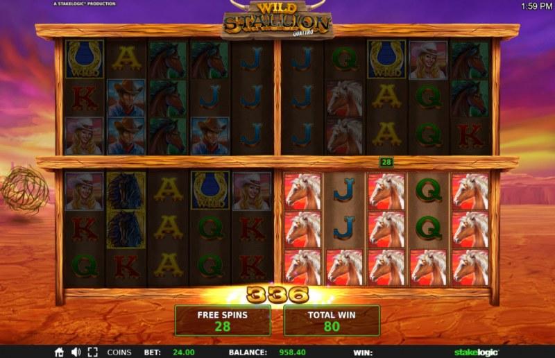 Wild Stallion :: Multiple winning paylines