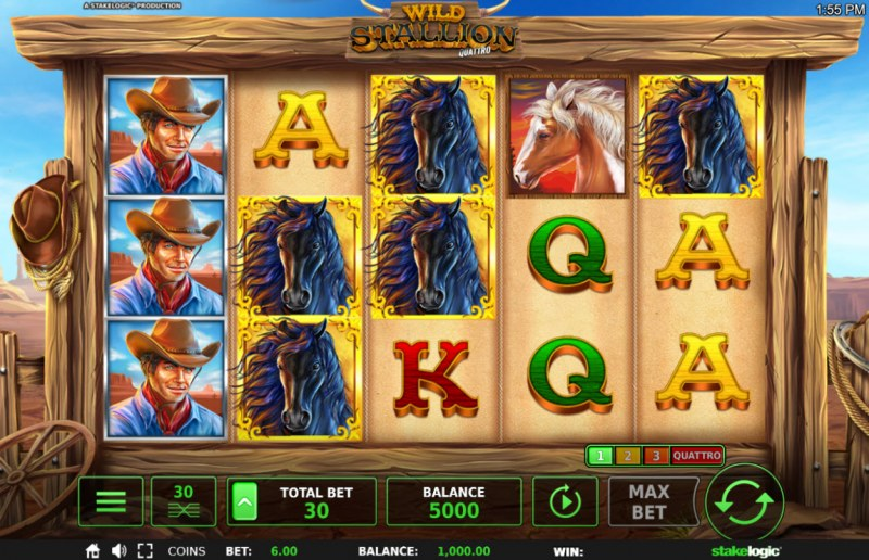 Wild Stallion :: Main Game Board
