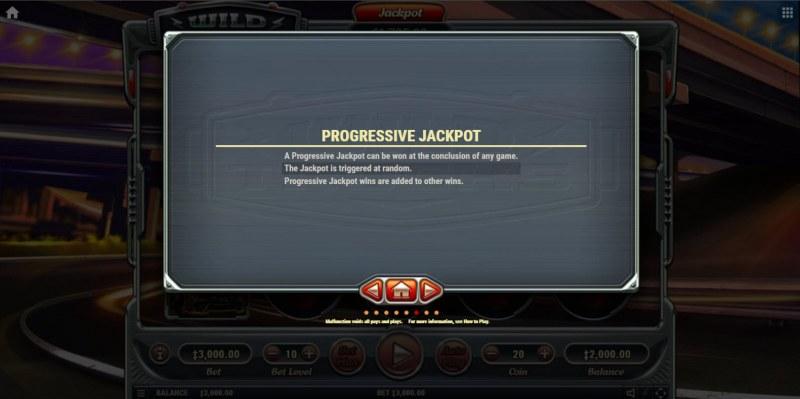 Wild Trucks :: Progressive Jackpot