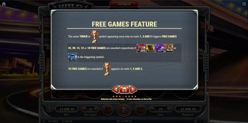 Wild Trucks :: Free Game Rules