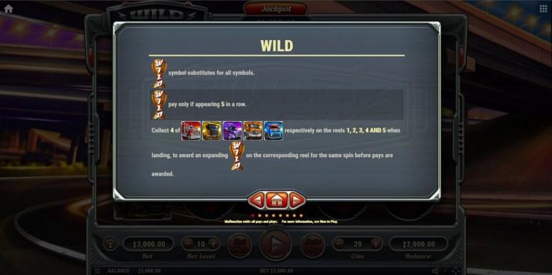 Wild Trucks :: Wild Symbol Rules