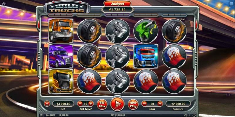 Wild Trucks :: Main Game Board