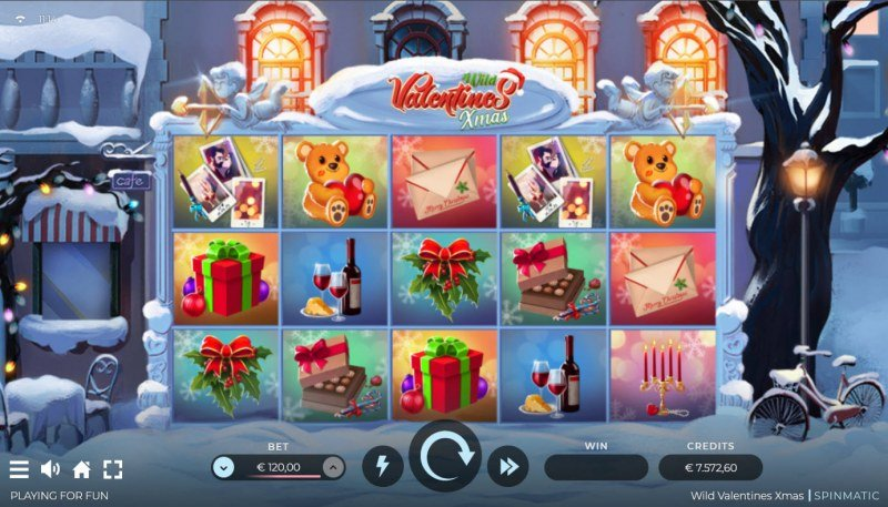 Wild Valentines Xmas :: Base Game Screen