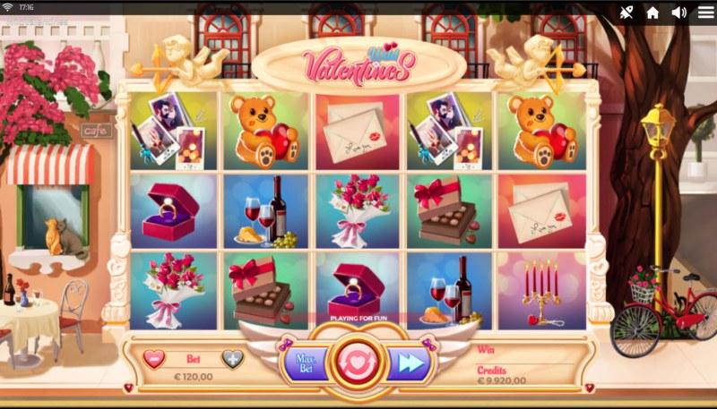 Wild Valentines :: Main Game Board