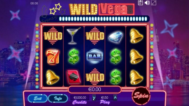 Wild Vegas :: Main Game Board