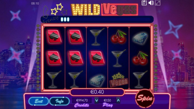 Wild Vegas :: Three of a kind win