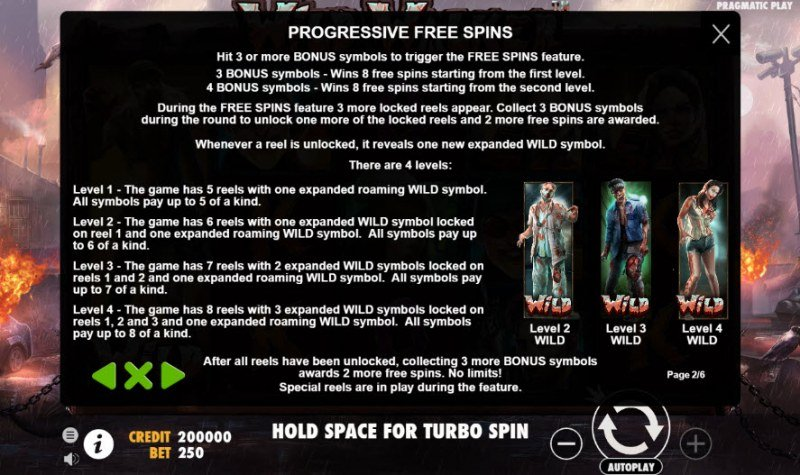 Wild Walker :: Free Spins Rules