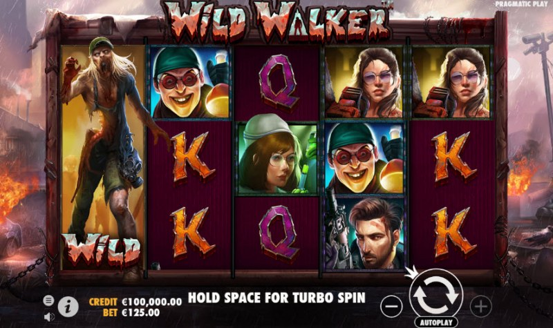 Wild Walker :: Main Game Board